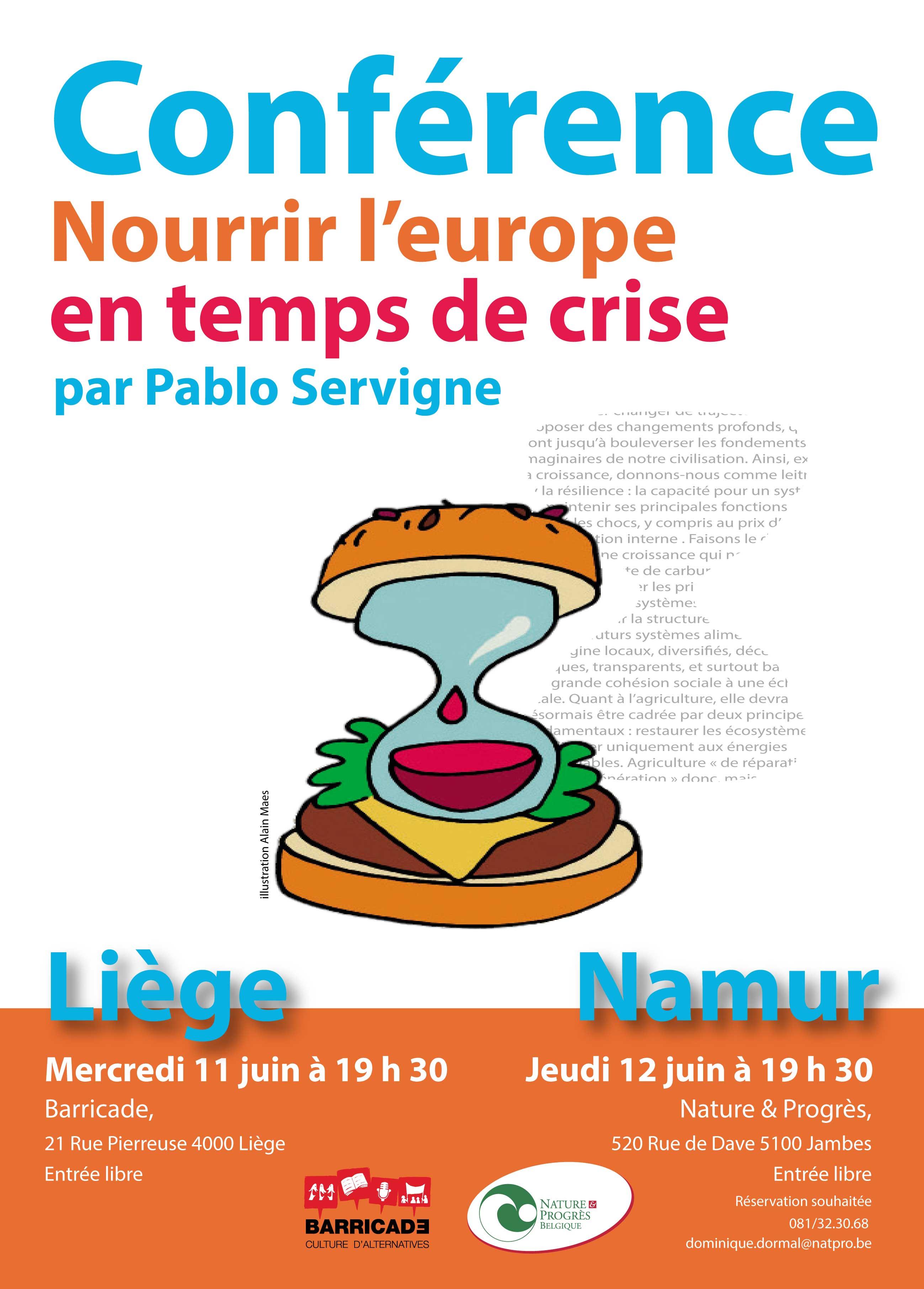 Nourrir l europe en temps de crise
