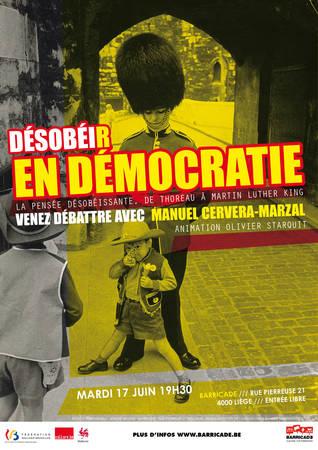 Desobeir en democratie